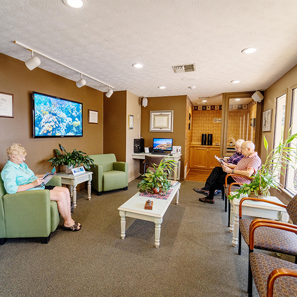 Masterpiece Dental Studio Waiting Room Guests